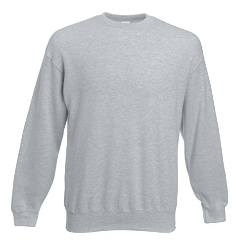 fruit-of-the-loom-sweatshirt-homme-xl-gris