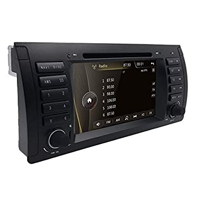 Autoradio-DVD-CD-Player-fr-BMW-5er-E39-M5-X5-E53-mit-GPS-Navi-Karte-7-Zoll-Display-Untersttzt-Bluetooth-USB-MicroSD-Lenkradfernbedienung-Subwoofer-iPod-Autoradio