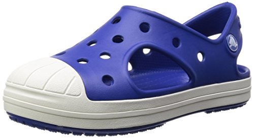 Crocs Bump It K, Unisex-Kinder Sandalen, Blau (Cerulean Blue 4O5), 23/24 EU