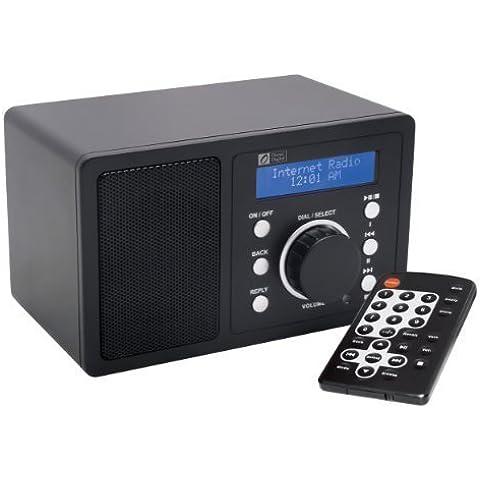 Ocean Digital WR200 Wi-Fi Wlan Internet inalámbrico Radio Sintonizador Conexión del receptor Tabla Multimedia Reproductor de música Pantalla