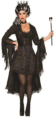 Bride Damen Kostüm Corpse - Damen Böse Prinzessin Corpse Bride Gothik Korsett Asymmetrischer Saum Halloween Horror Kostüm Kleid Outfit