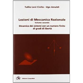 Lezioni Di Meccanica Razionale: 2