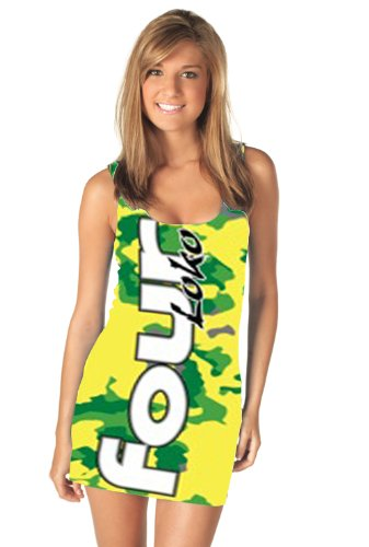 four-loko-lemon-lime-alcoholic-drink-ladies-tank-dress-dress-damen-x-large