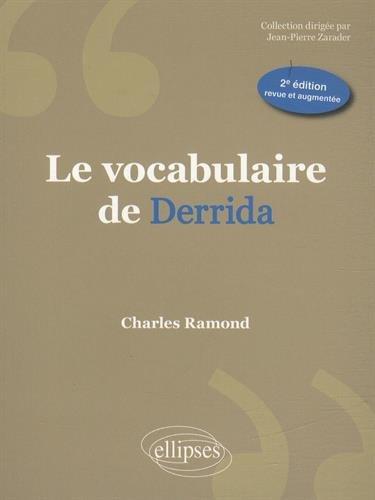 Le Vocabulaire de Derrida