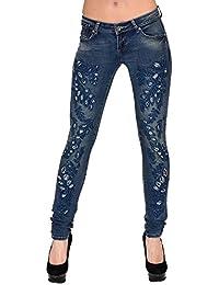 online zum Verkauf sehr schön Mode Suchergebnis auf Amazon.de für: Jeans Mit Strasssteinen ...