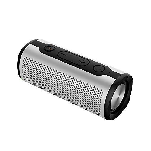 Jackcer Bluetooth-Lautsprecher, wasserdichte Außenlautsprecher Bluetooth 4.2, drahtloser Stereo-Booming-Basslautsprecher, 8h Wiedergabezeit mit 2000mAh-Leistung für Home Party Camping,2 Bin Wasserdicht Radios