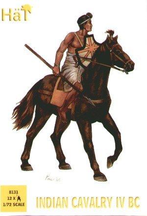 HÄT 8131 Indische Kavallerie 1:72 12 Figuren Bausatz