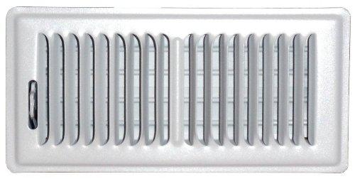speedi-grille sg-414FLW 4-Zoll von 35,6cm weiß Boden-Register mit 2Wege-Ablenkung