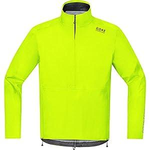 Gore Running Wear Herren Regen-Laufjacke, Gore-Tex, Air GT As Half-Zip Jacket, Größe M, Schwarz, JGMAIR