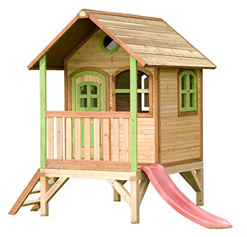 Cabane Enfant Tom en cèdre Vernis Naturel