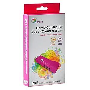 Gam3Gear Brook Xbox One zu PS4 Super-Converter Spiele-Adapter mit Schlüsselanhänger with Gam3Gear keychain