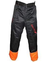 RocwooD Pantalon de protection anti-coupures pour tronçonneuse 84-102cm