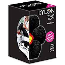 Dylon colorante per tessuti in lavatrice nero velluto 350g incluso sale
