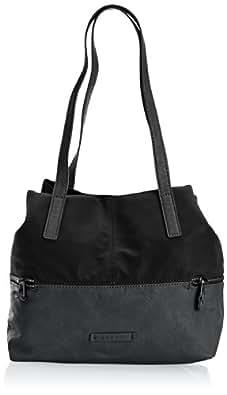 Esprit Womens Eve Fancy Shopper Shoulder Bag 054EA1O012 Black