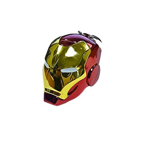 Iron Man - Helm - Schlüsselanhänger aus Metall   MARVEL Comics Avengers (Keychain Helm)