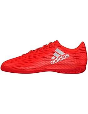 Adidas X 16.4 in, Botas de Fútbol para Niños