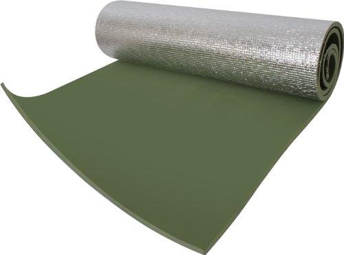 Rothco Thermal Reflective Olive Drab Sleeping Pad with Ties -