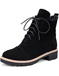 1TO9 - Botines Chelsea mujer , color negro, talla 35.5