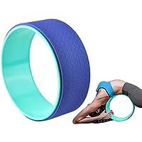 Iso Trade Yoga Rad Trainings Rolle Wheel Fitness Trainer Rücken Wirbelsäule Pilates Sport
