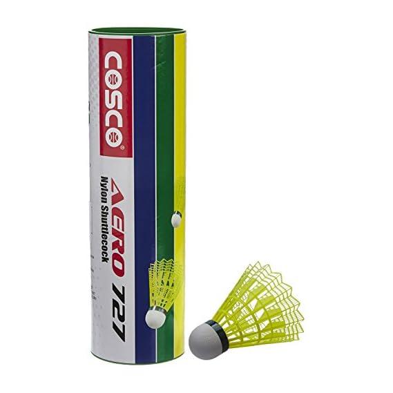 Cosco Aero 727 Badminton Nylon Shuttlecock