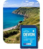 Satmap MapCard: Devon (North) OS 1:10k & 1:25k
