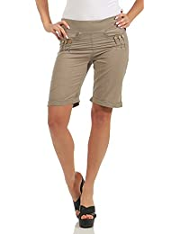 selezione migliore 9fd2c acaca Amazon.it: Pantaloni al ginocchio donna - Pantaloncini ...