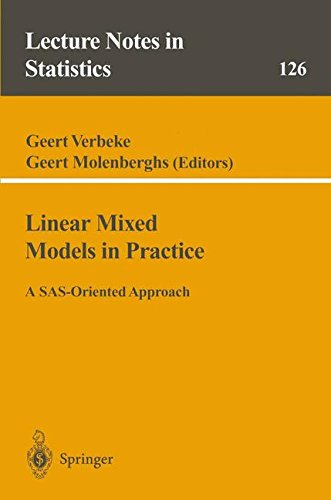 in Practice: A SAS-Oriented Approach (Lecture Notes in Statistics) (Sas For Mixed Models)