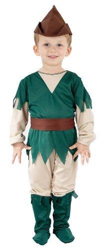 Kleinkind Jungen Peter Pan Kostüm - Brown Robin Hood Costume for 3-5Year