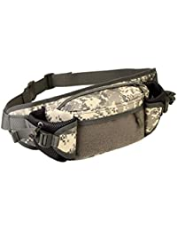 Street27 Outdoor Travel Hiking Camping Multiple Pockets Adjustable Strap Mini Waist Pack Utility Pouch Belt Bag...