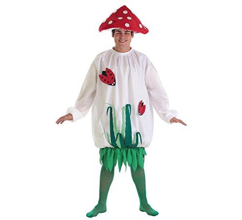 Disfraz Adulto Seta Hombre. Compuesto por 3 piezas: Vestido, sombrero y calcetines