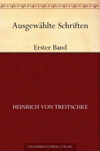 Ausgewählte Schriften: Erster Band