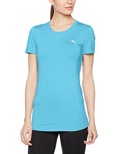 PUMA Damen Essential Tee T-Shirt, Blue Atoll, L (Blue Atoll Bekleidung)