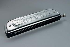 hohner chrometta 14 chromatic harmonica ideal for classical jazz blues etc. Black Bedroom Furniture Sets. Home Design Ideas