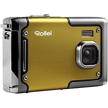Rollei Sportsline 85 - Digitalkamera - 8 Megapixel - 1080p Full HD Videofunktion - wasserdicht bis zu 3 Metern - Gelb