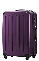 HAUPTSTADTKOFFER Reisekoffer XL · Hartschalenkoffer · MATT ODER Glanz + GEPÄCKGURT (Violett (Glanz))