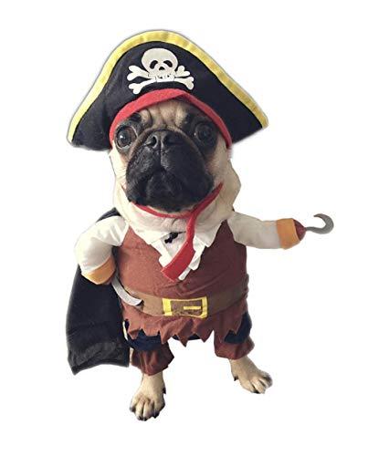 YARBAR Hunde Hundekostüm Hundemantel Für Kleine Weihnachten Karneval Kostüm