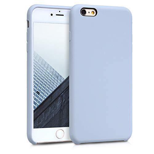 Kwmobile Coque de Protection en TPU pour Apple iPhone 6 Plus/6S Plus Bleu Clair Mat