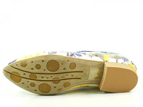 Laura Vita sl173-11a Zedi Chaussures Derby femme Blau