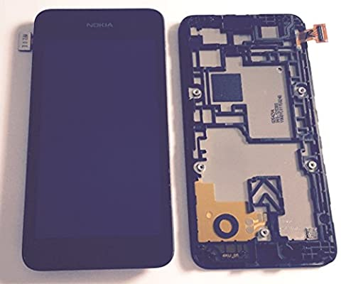 Nokia Lumia 530 LCD + Touch Screen Digitizer Complete Front Cover With Frame. 100% Original, Brand New Replacement LCD Screen, Repair Part , Nokia Part No: 00812S6 UK Supplier, From Itstek The UK`S Original Parts Specialist.