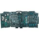 Brüder Mannesmann Werkzeug M29085 29085 Premium Universal und Haushalts-Werkzeugkoffer, 89-tlg, Blau