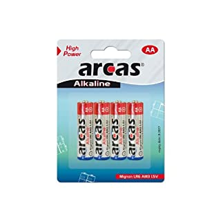 Batterie Arcas Alkaline Mignon AA (4 St.)