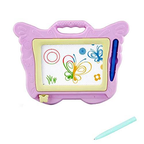 Lernen, Schreiben, Skizzenblock Bunte Schmetterlinge scherzt magnetisches Reißbrett YunYoud Coole kinderspielzeuge günstiges kinderspielzeug kreatives Spielzeug