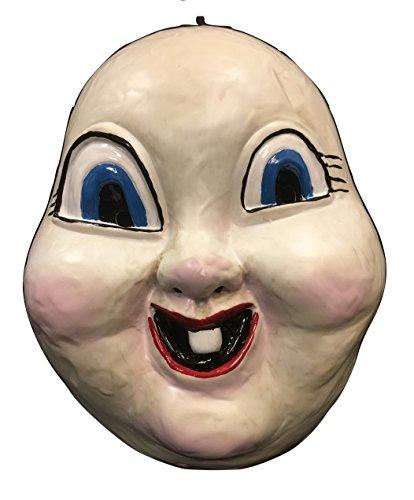 UK Halloween Karneval Cosplay Föhlich Death Tag Horror Film Cosplay Das Gesicht Bedeckend Halloween Maske - Kostüm Verkleidung Kostüm Outfit universell (Halloween Kostüm Glückliches Gesicht)