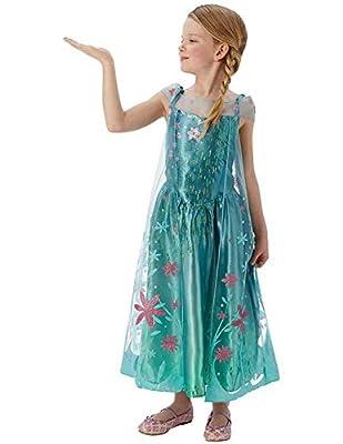Elsa -Disney Fiebre Congelado - Childrens Disfraz por Rubies