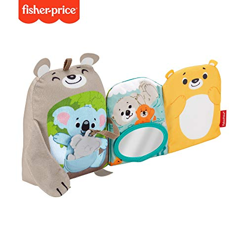 Fisher - Price Libro de actividades juguete para bebé (Mattel GJD37)