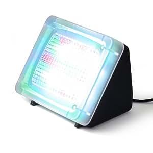 CSL - LED TV Simulator | Fernseh Attrappe-Fake / Einbruchschutz / Home Security | 20 farbige LED's | 3 Programme | Lichtsensor und Timer