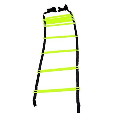 I-WIN Adjustable 2 Meters Agility Ladder Soccer Speed Fitness Feet Sport Training