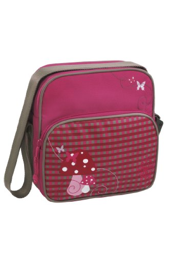 Lässig Mini Square Bag Kindergartentasche, Mushroom magenta Mushroom magenta
