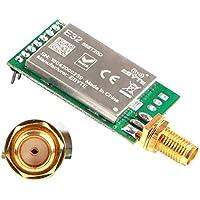 MakerHawk Módulo de transmisión inalámbrico RF 868 MHZ Comunicación Lora de espectro amplio, 20dBm 100mW Distancia medida 3000M Transmisor receptor UART SX1278 / SX1276 RF, Funcionamiento antiinterferente