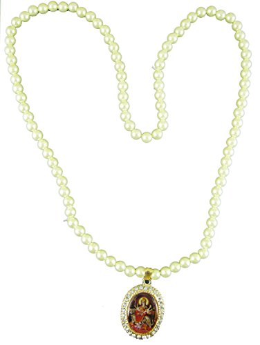 ESHOPPEE Durga Maa moti mala with locket